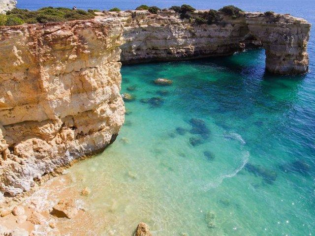 Roteiro pelas praias do Algarve